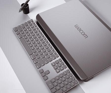 3D визуализация планшета и ноутбука