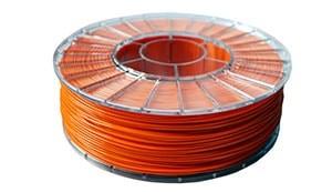 Купить PLA пластик оранжевый