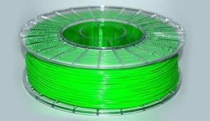 Купить PLA пластик люминисцентно зеленый
